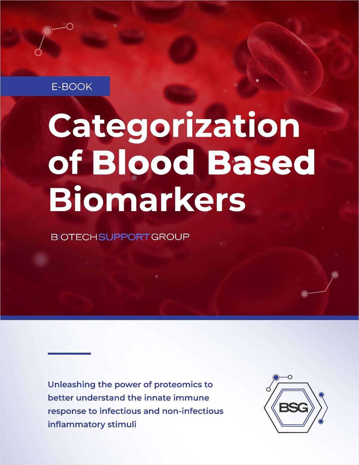 Categorization of Blood-Based Biomarkers