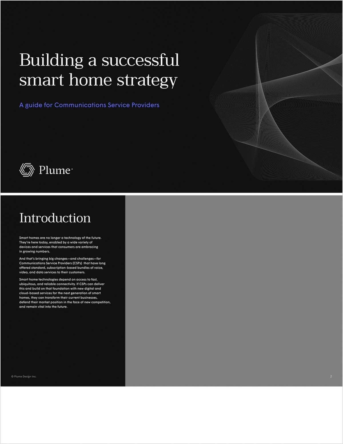 Building a successful smart home strategy. A guide for Communications Service Providers