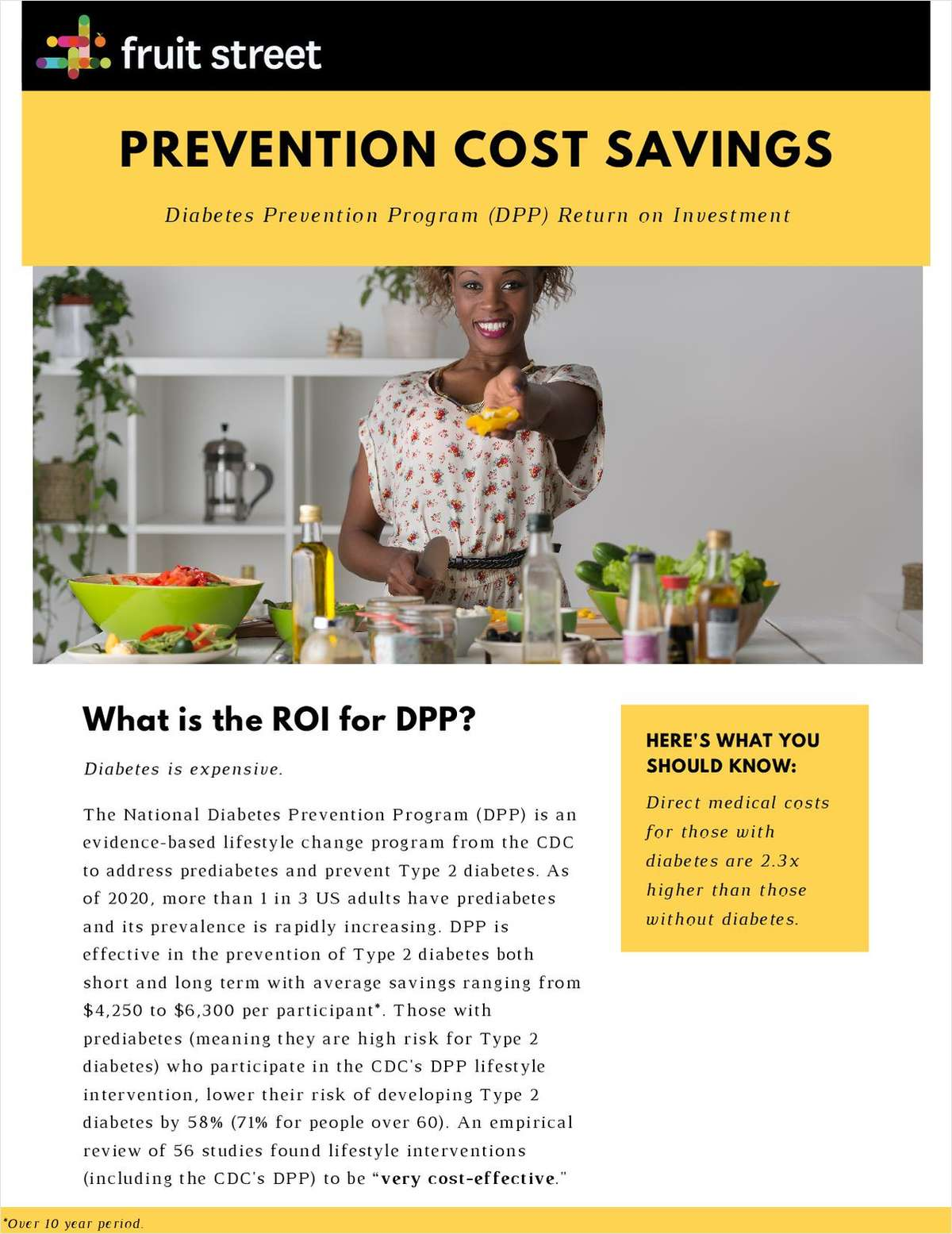 Prevention Cost Savings: What is the ROI for Diabetes Prevention?