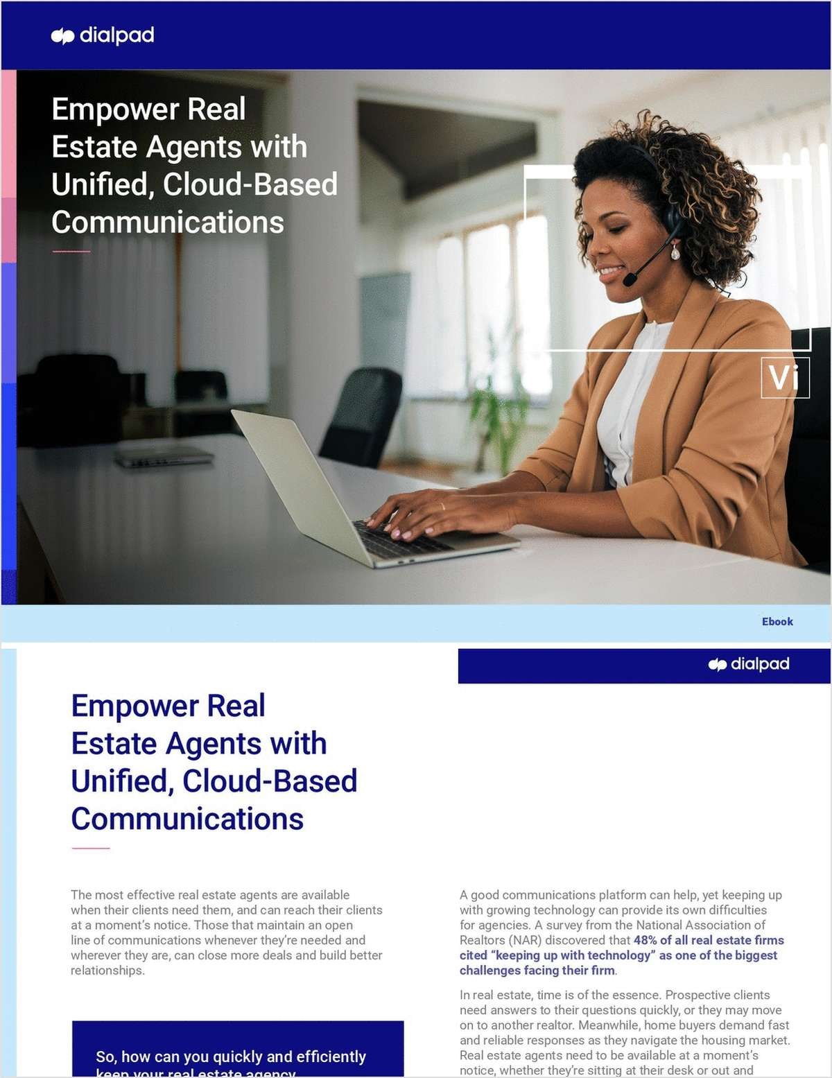 Empower CRE Performance with AI-Powered, Cloud-Based Communications