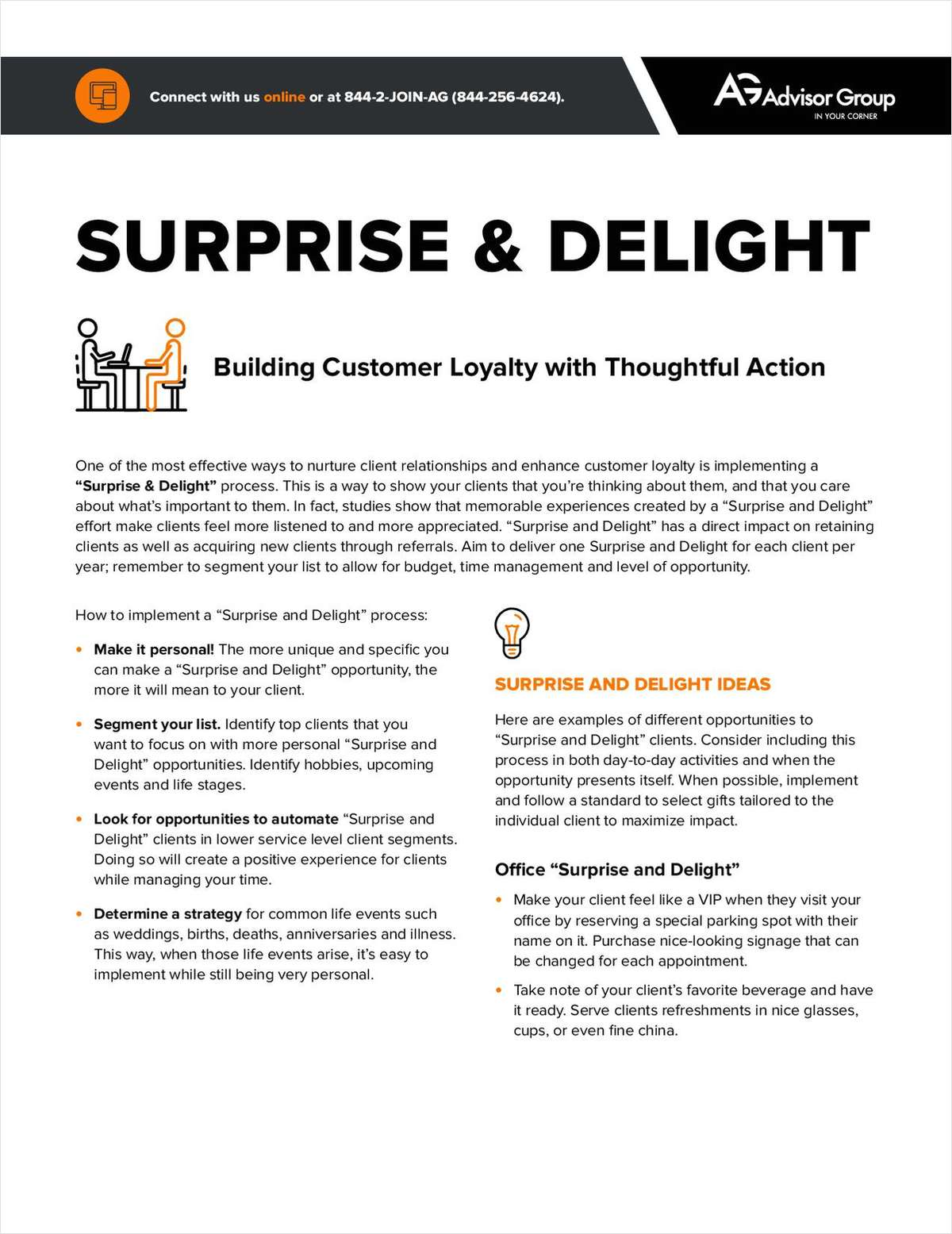 Surprise & Delight: Building Customer Loyalty with Thoughtful Action