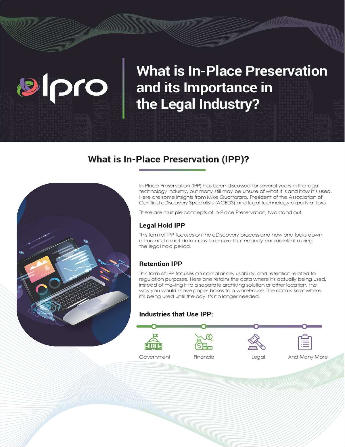 What is In-Place Preservation and its Importance in the Legal Industry?