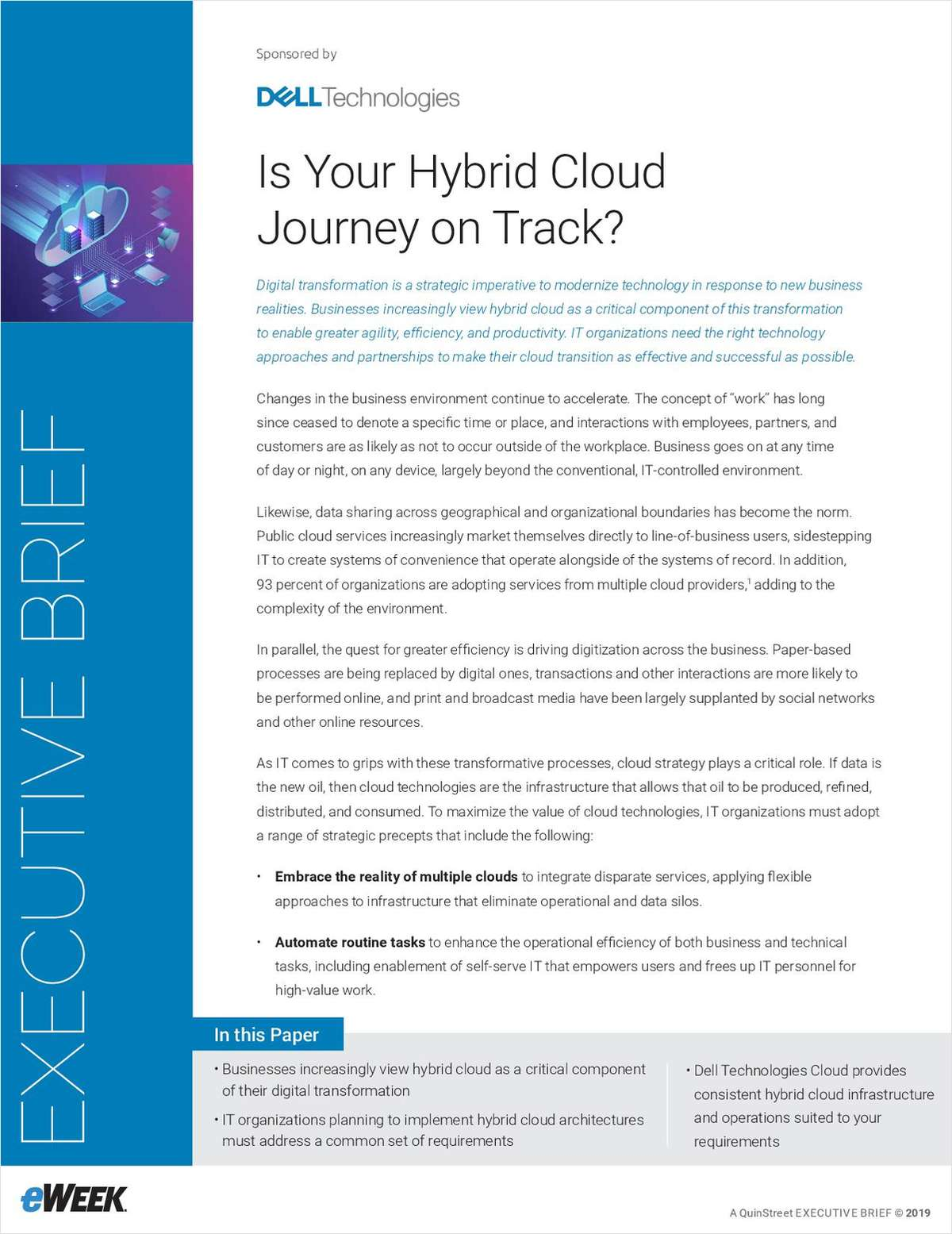 Is your Hybrid Cloud Journey on Track?