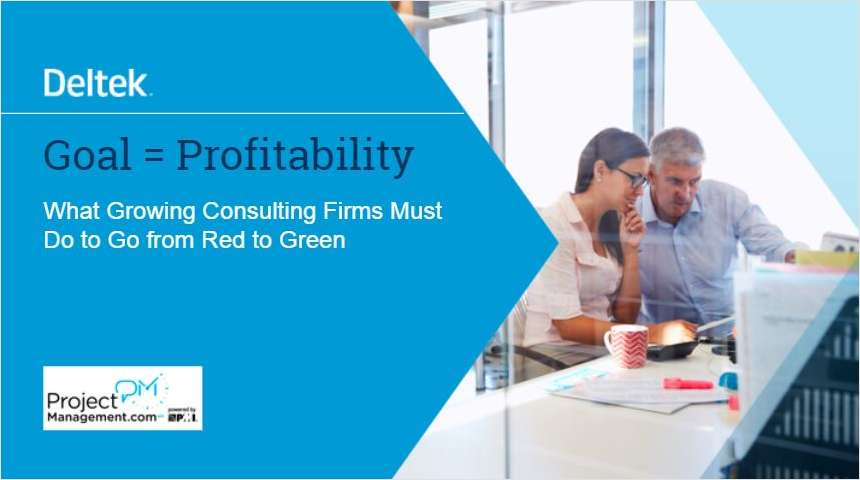What Growing Consulting Firms Must Do to Go from Red to Green