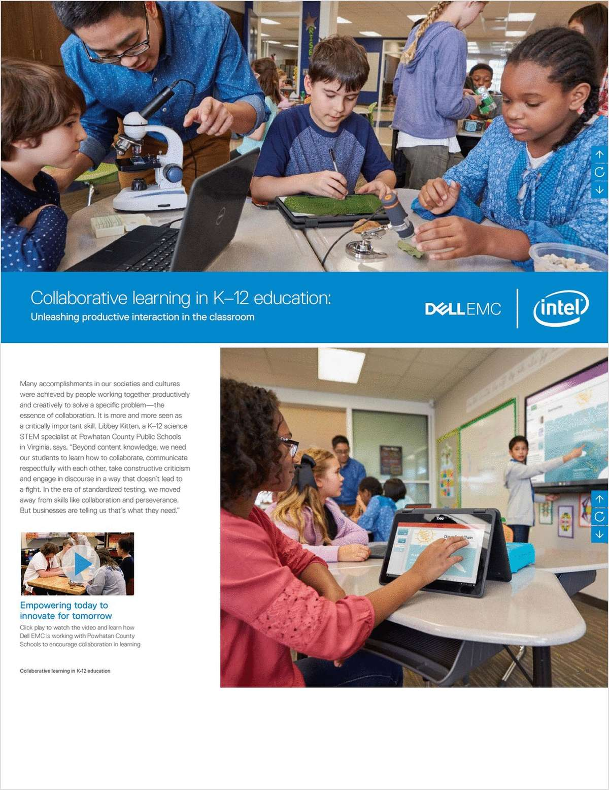 Collaborative Learning in K-12 Education - Unleashing Productive Interaction in the Classroom