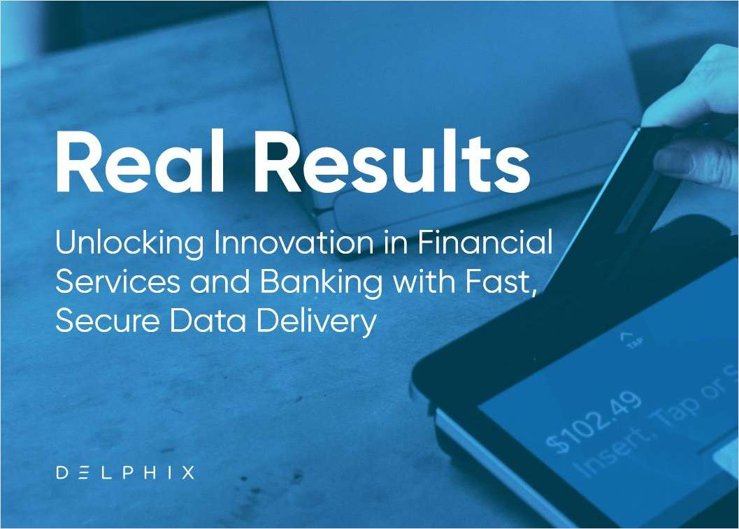 Unlocking Innovation in Financial Services and Banking with Fast, Secure Data Delivery