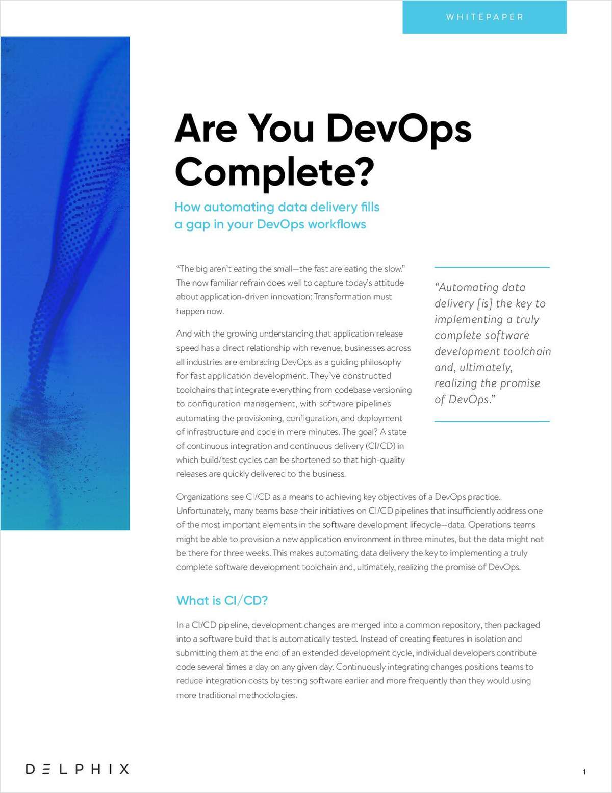 Are You DevOps Complete?