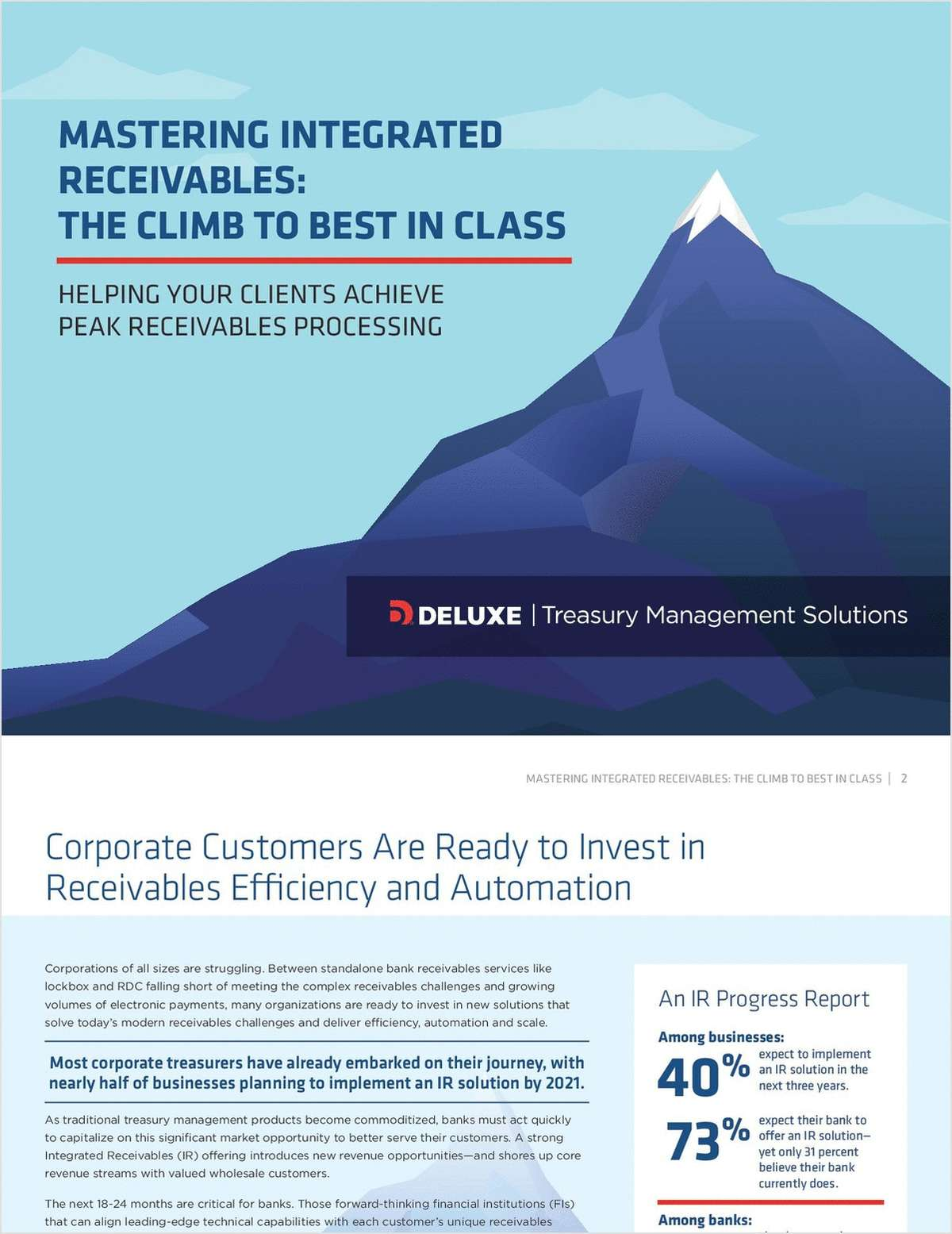 Mastering Integrated Receivables: The Climb to Best in Class
