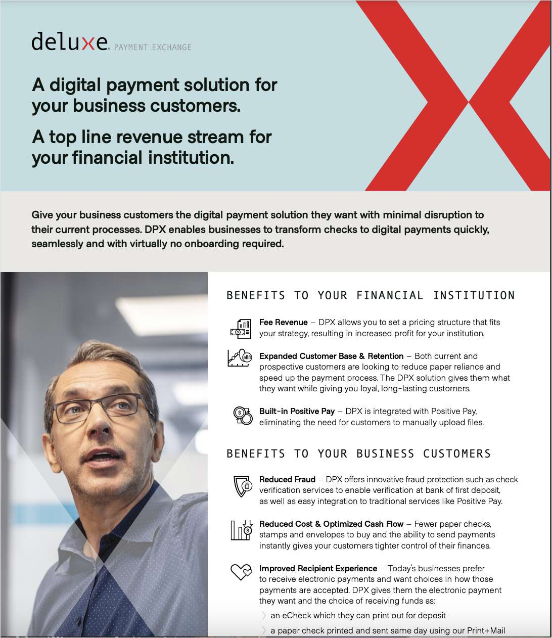 Transform Checks to Digital Payments with Deluxe Payment Exchange and Advisory Services