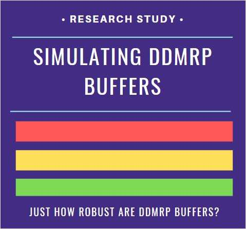 DDMRP Simulations with Live Data Show Dramatic Improvements in Inventory Position and Service Levels.