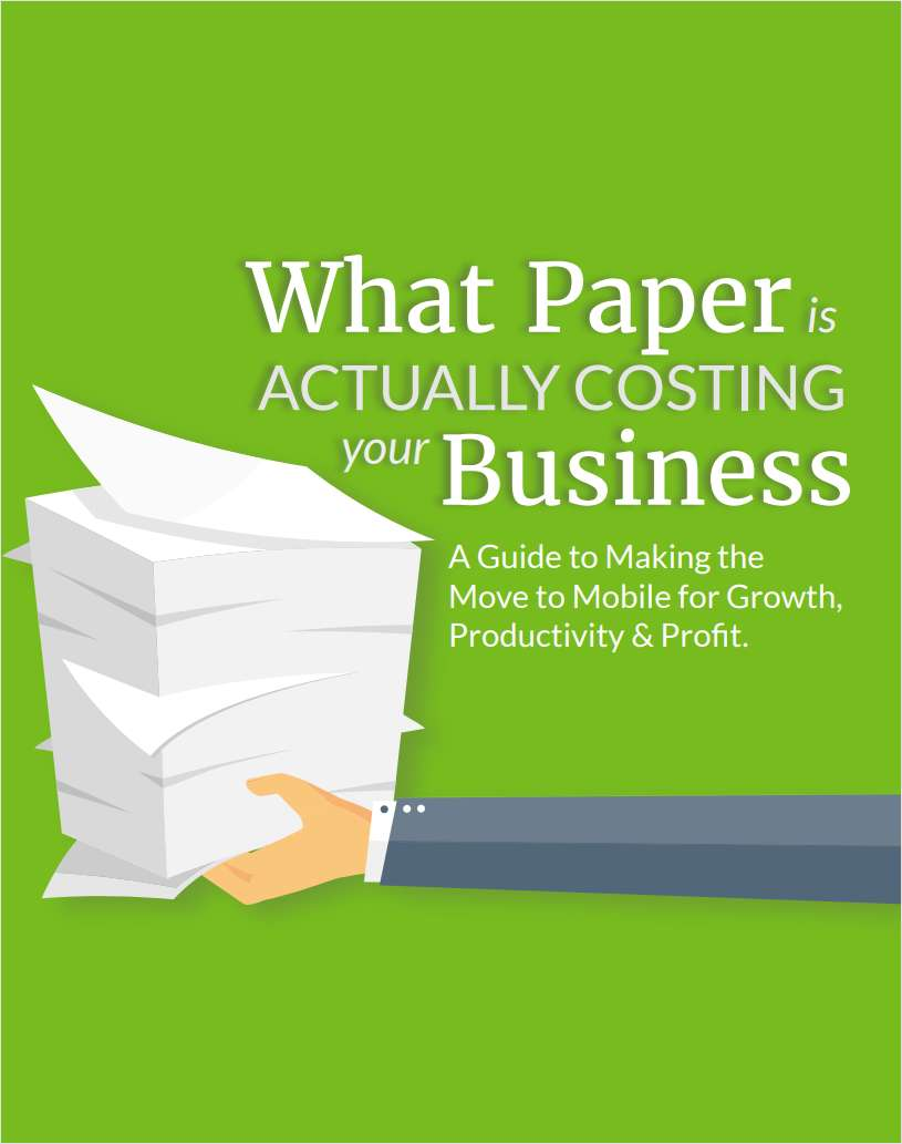 What Paper is Actually Costing Your Business