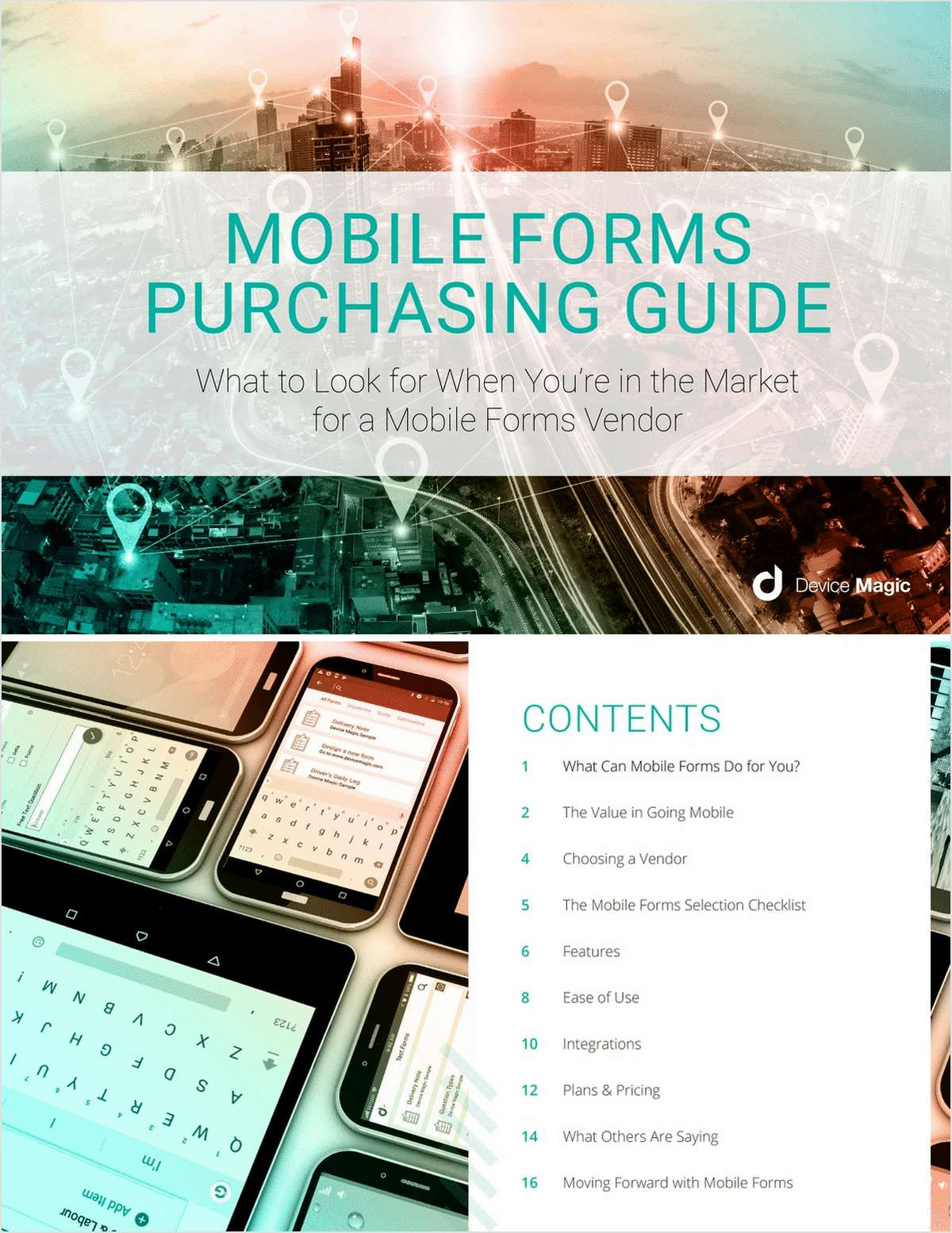 Buyer's Guide:  Choosing a Mobile Forms Vendor