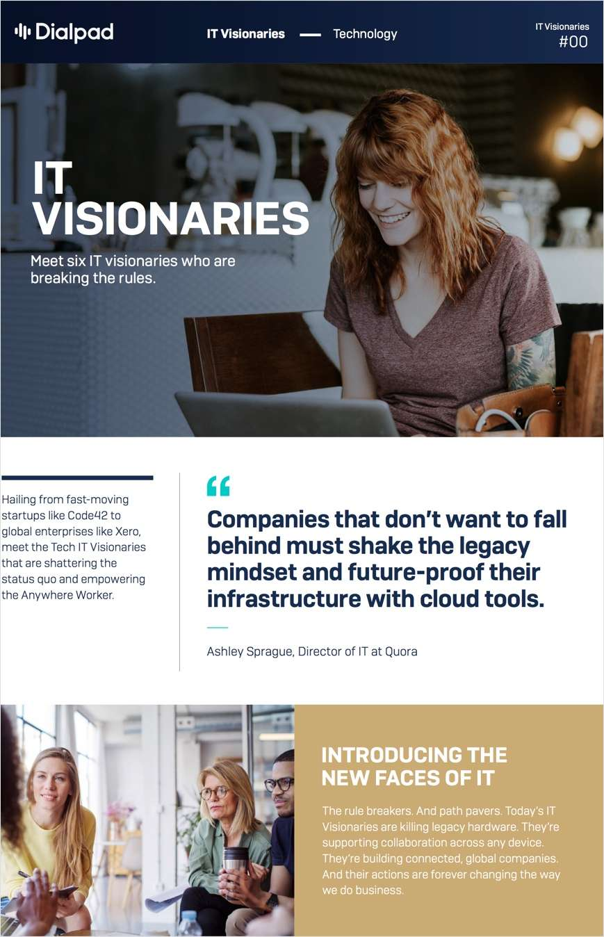Meet the IT Visionaries: Future-Proof Your IT Stack