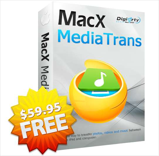 MacX MediaTrans V4.9 - An iTunes Alternative for Mac (Valued at $59.95) FREE for a Limited Time