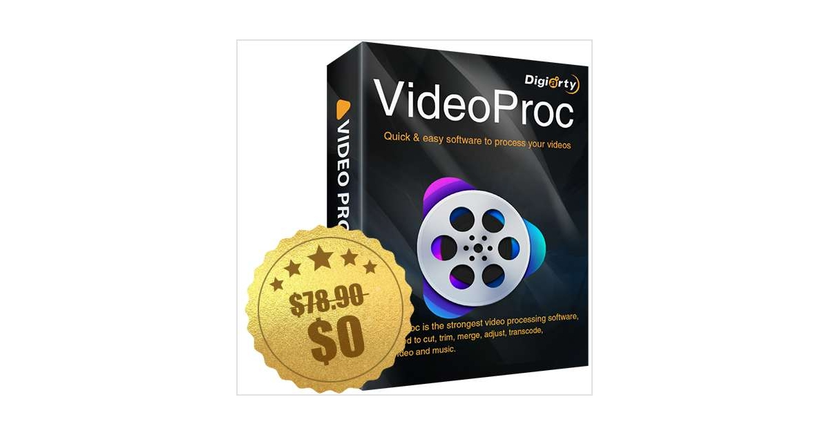 VideoProc Digiarty Anniversary Giveaway ($78.90 Value) FREE for a Limited Time, Free Digiarty WinXDVD Kit