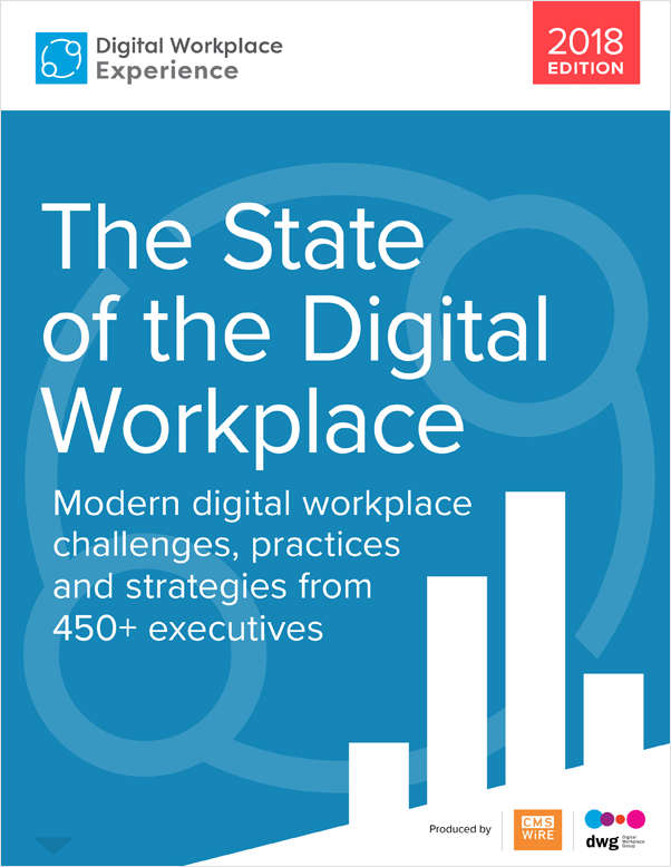 Report: The State of the Digital Workplace