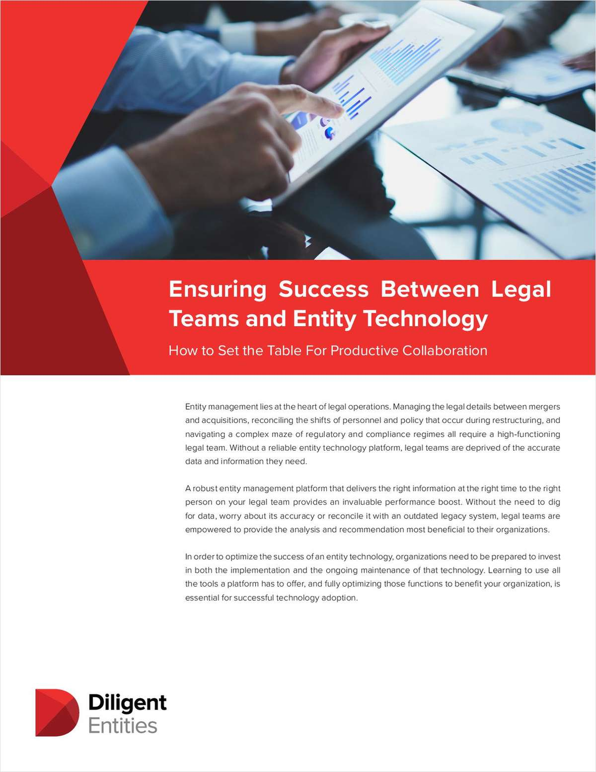 Ensuring Success Between Legal Teams and Entity Technology