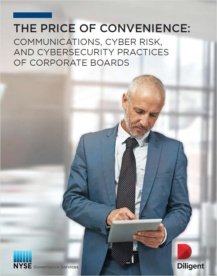 The Price of Convenience: How to Improve Cybersecurity around Board Communications
