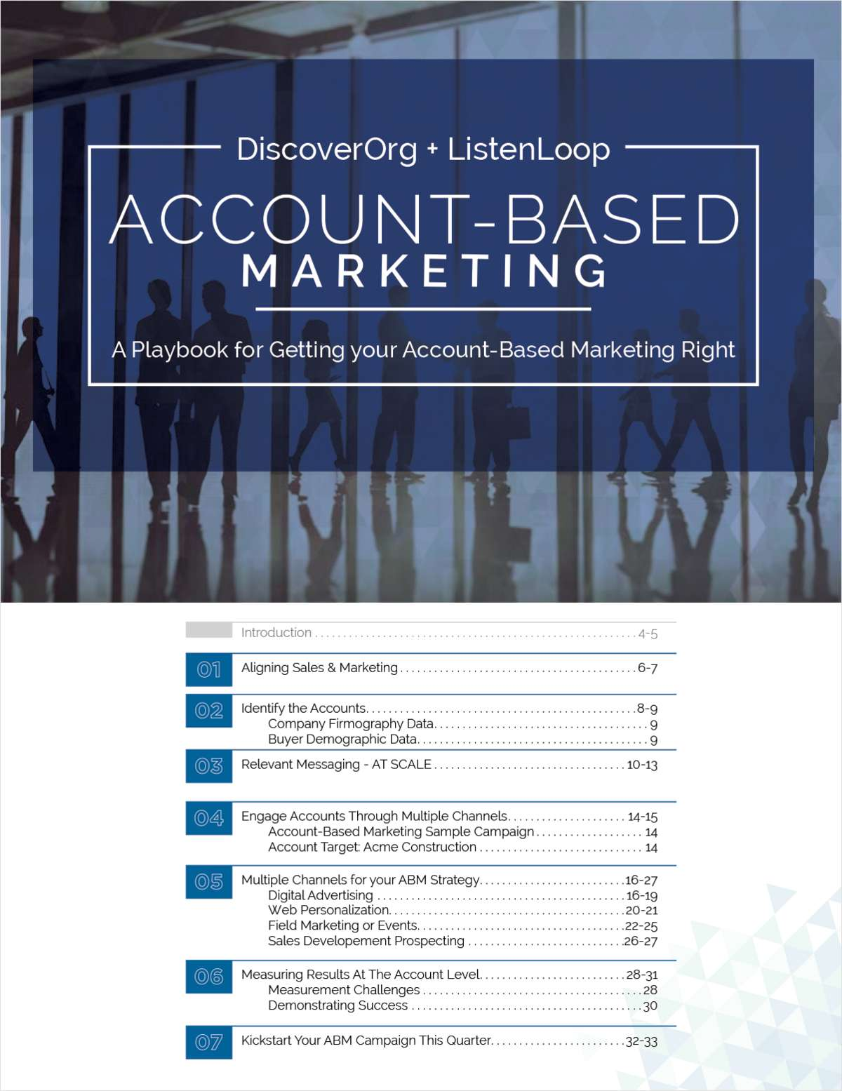 The Playbook for Account-Based Marketing (ABM)