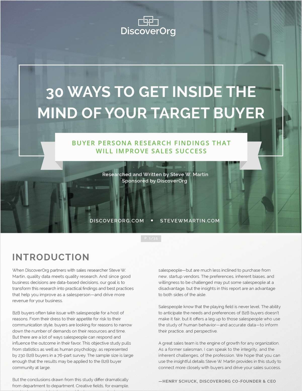 30 Ways to Get Inside the Mind of Your Target Buyer