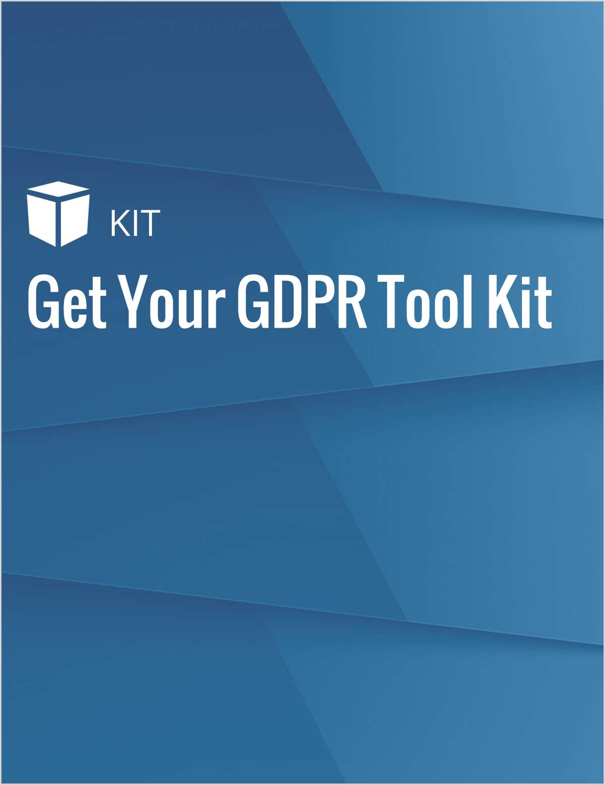Get Your GDPR Tool Kit