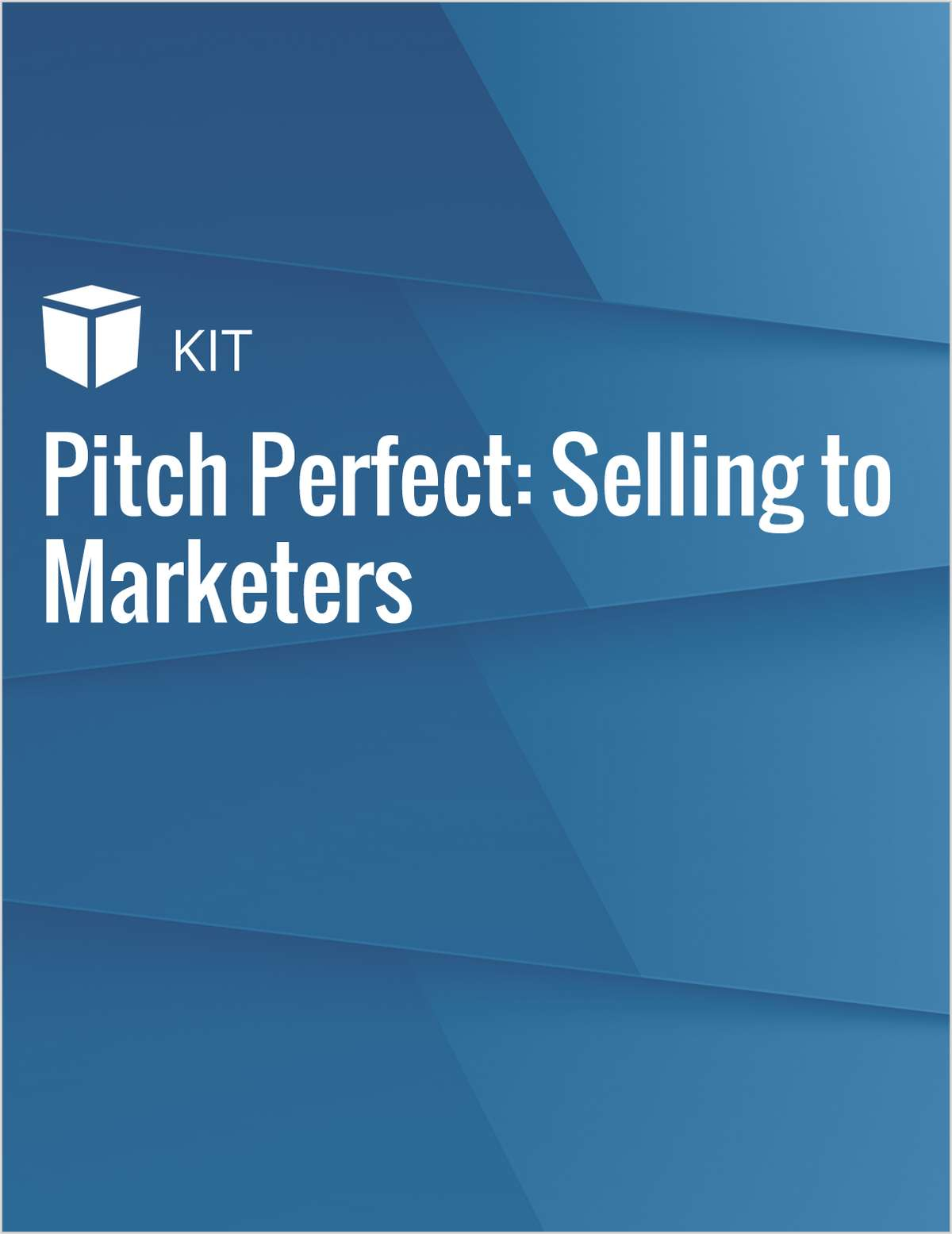 Pitch Perfect: Selling to Marketers
