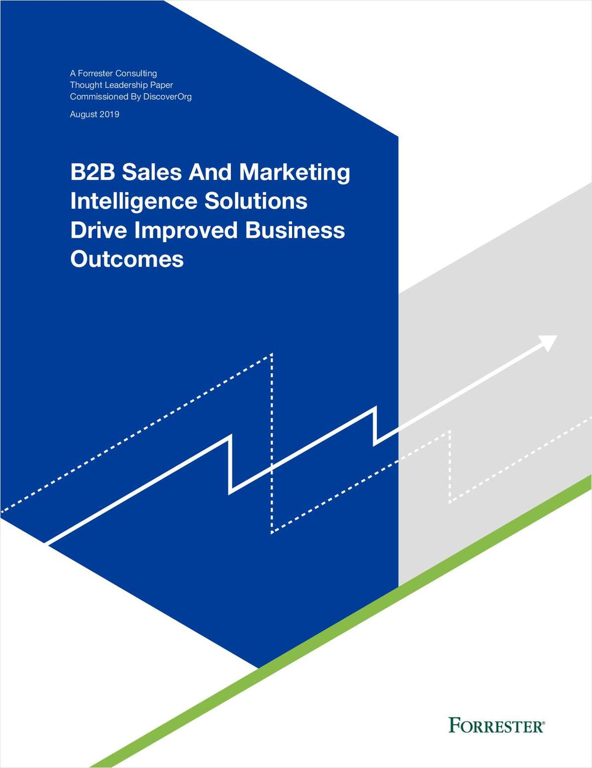 Forrester Research Report: How Sales and Marketing Intelligence Drive Improved Business Outcomes