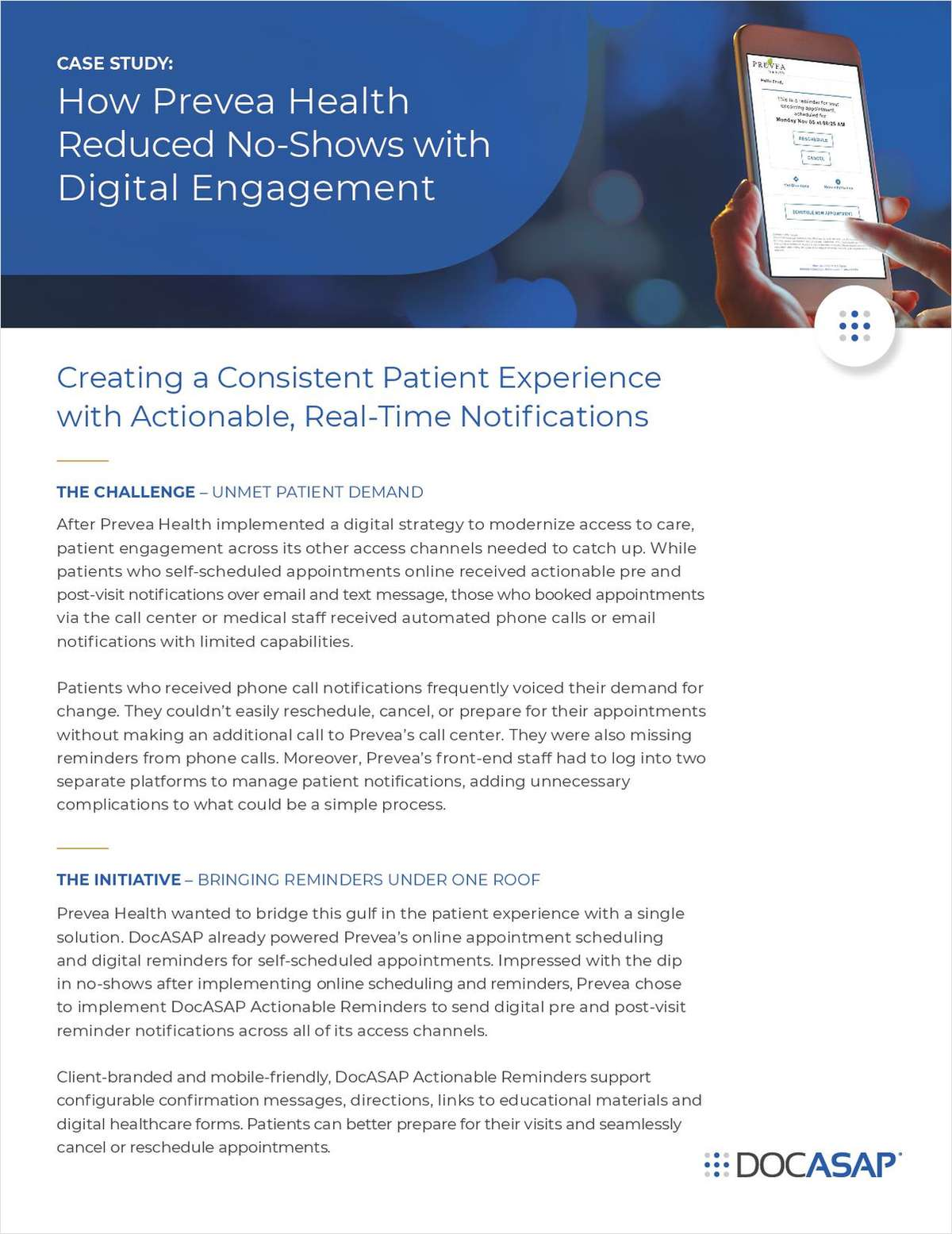How Prevea Health Reduced No-Shows with Digital Engagement