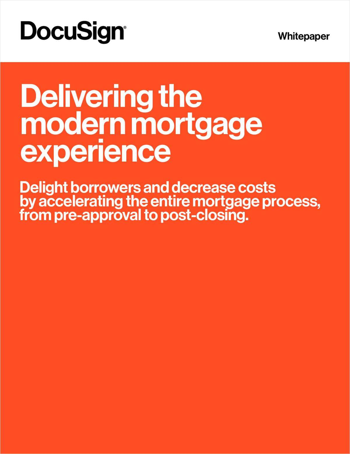 Delivering the Modern Mortgage Experience