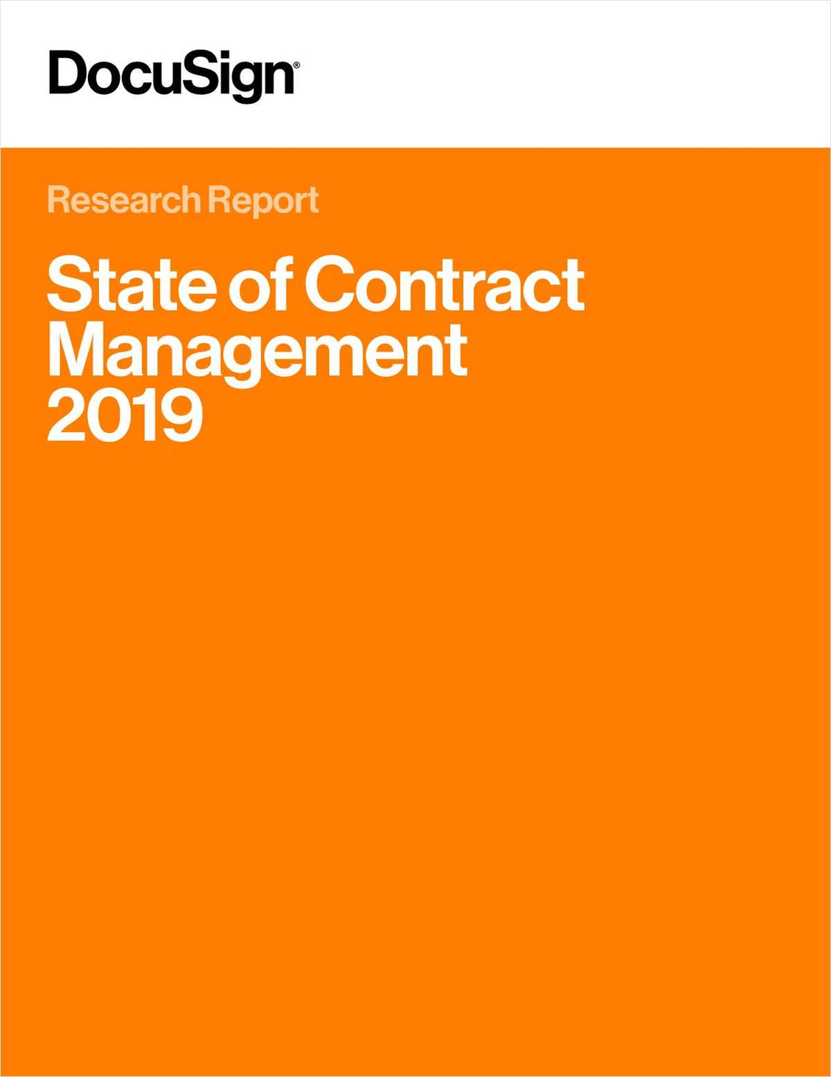 State of Contract Management