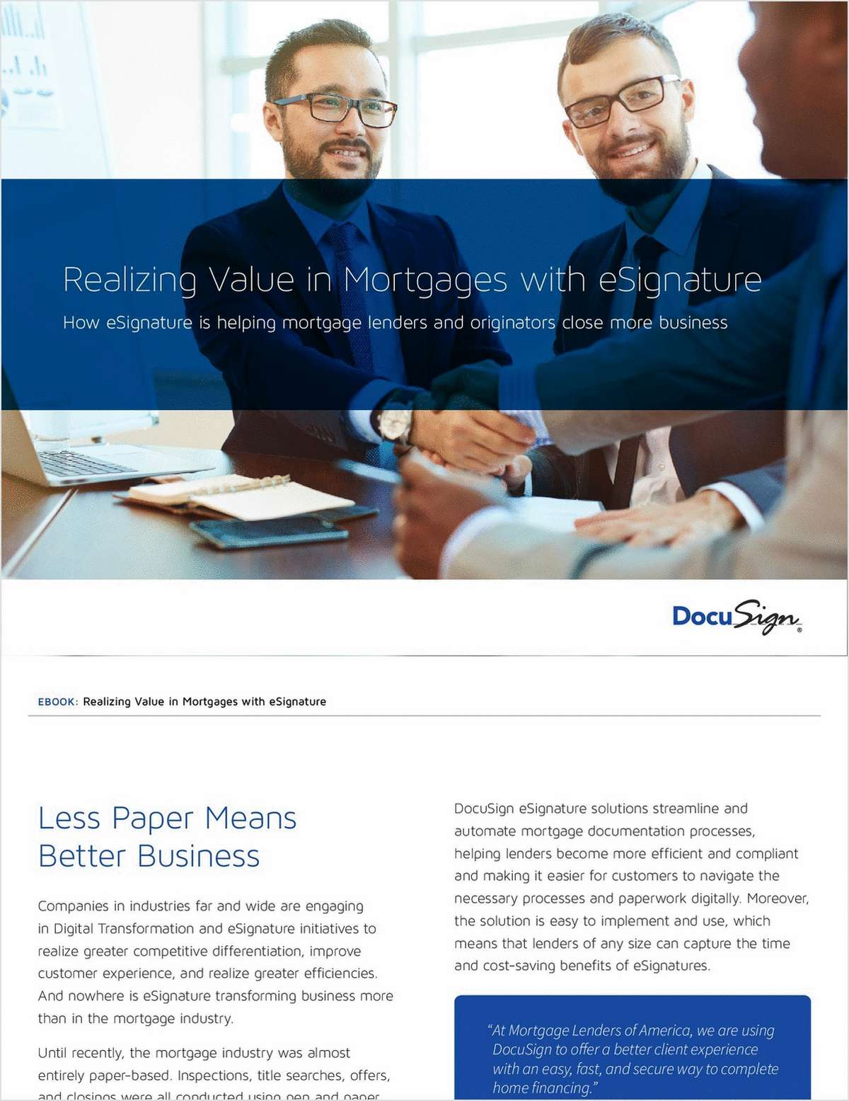 How to Close More Mortgages with eSignature Solutions