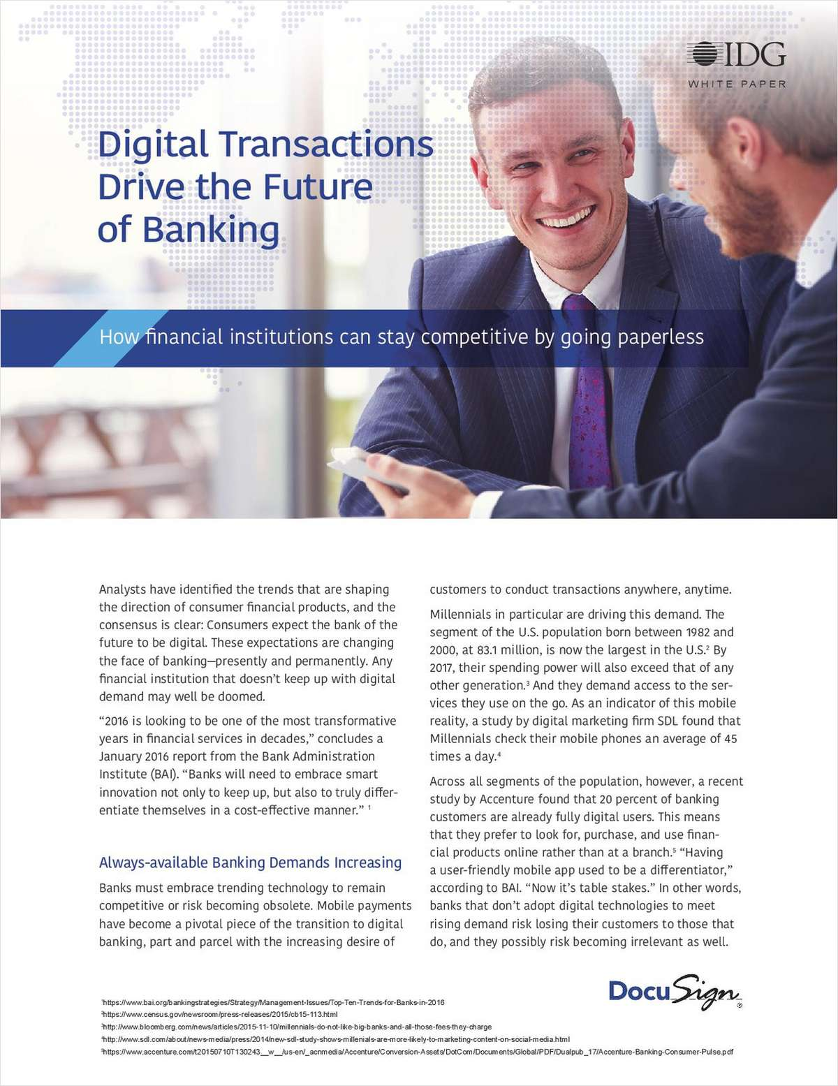 How Digital Transactions Drive the Future of Banking