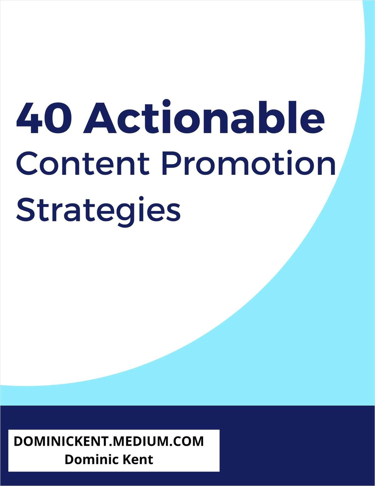 40 Actionable Content Promotion Strategies [With Examples]