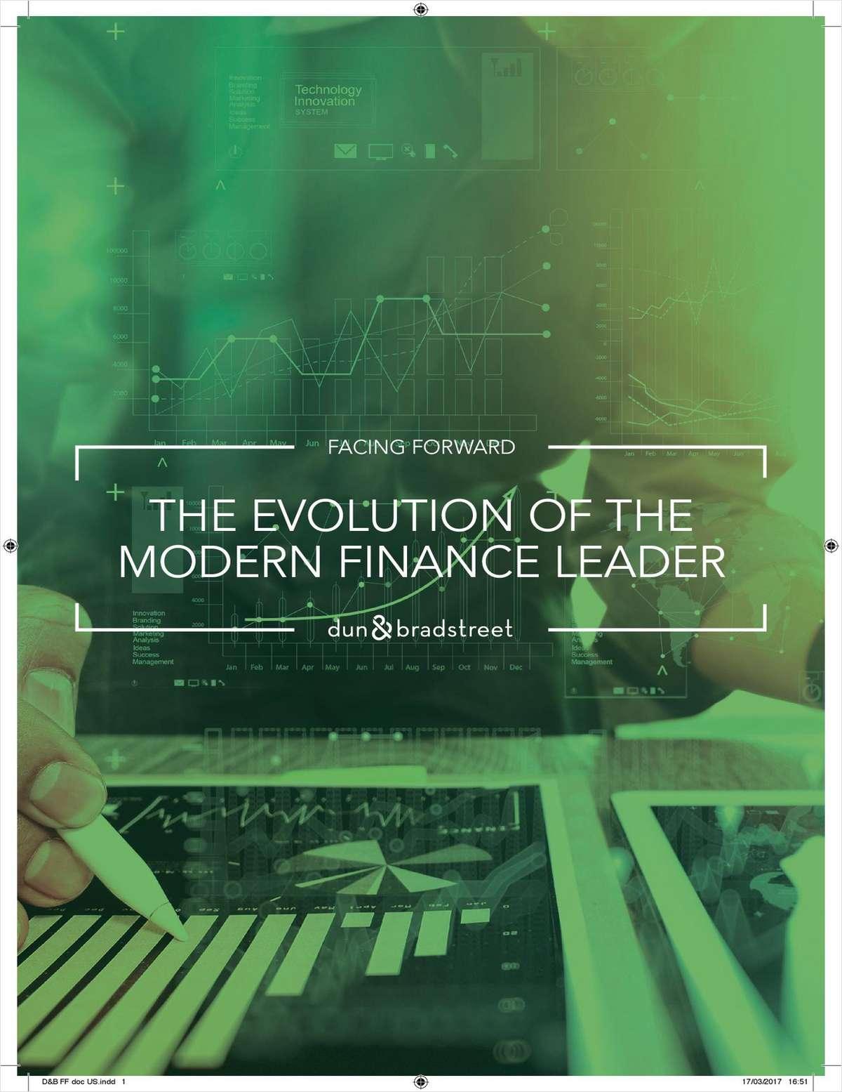Facing Forward: The Evolution of the Modern Finance Leader