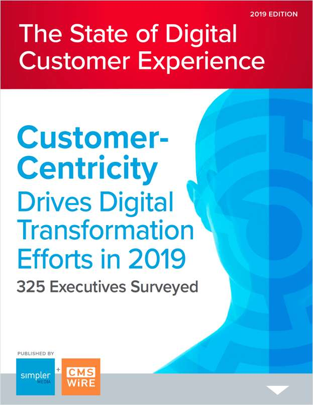 Report: The State of Digital Customer Experience