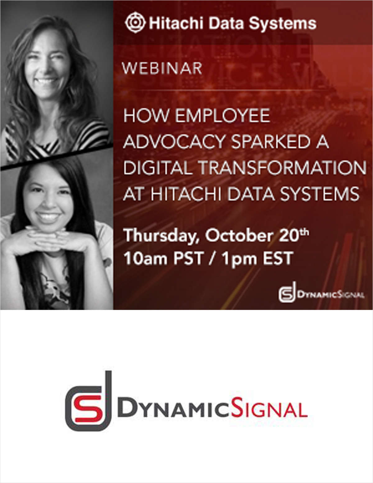 How Employee Advocacy Sparked A Digital Transformation at Hitachi Data Systems