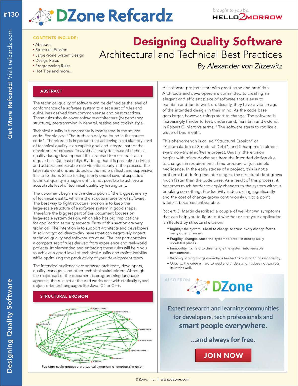 Designing Quality Software: Architectural and Technical Best Practices