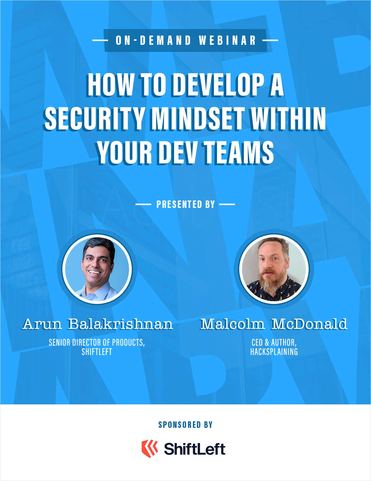 How to develop a security mindset within your dev teams
