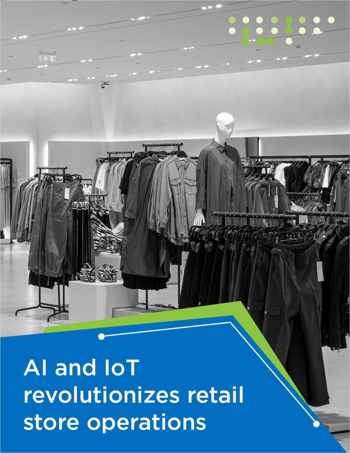 A success story of applying AI and IoT enabled remote services for retail store operations