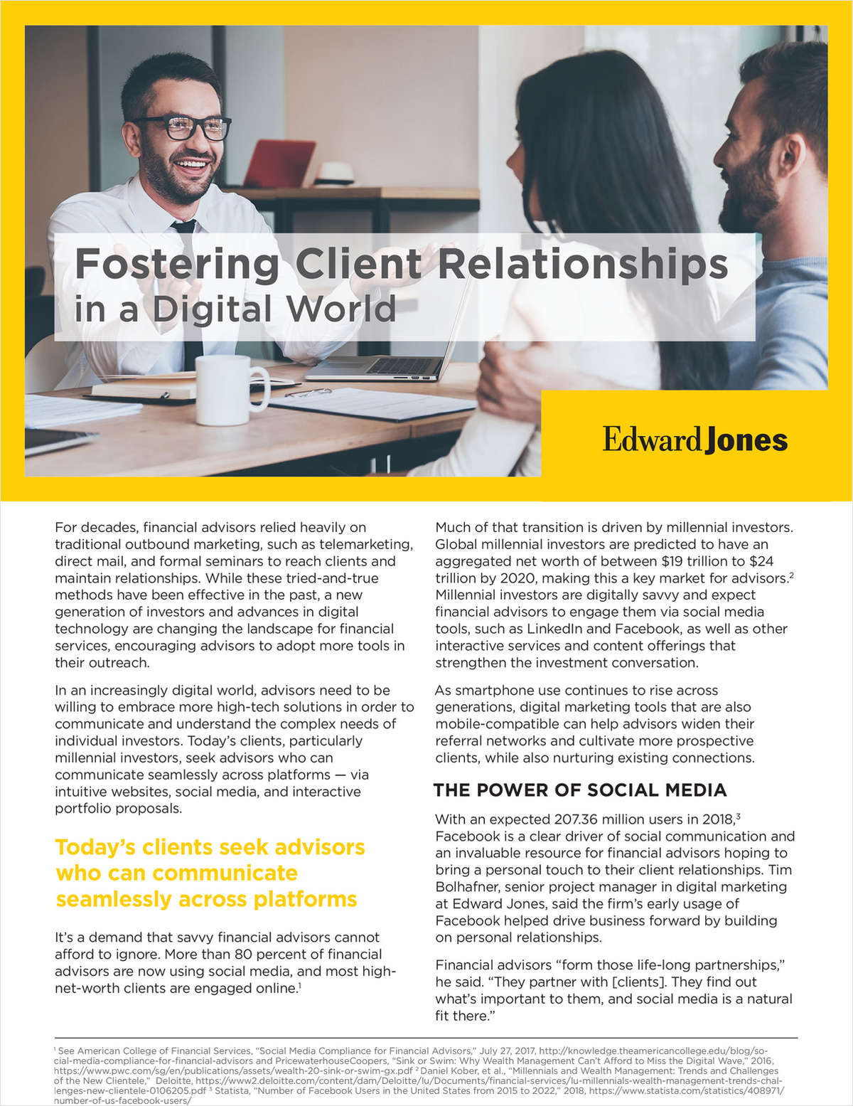 Fostering Client Relationships in a Digital World