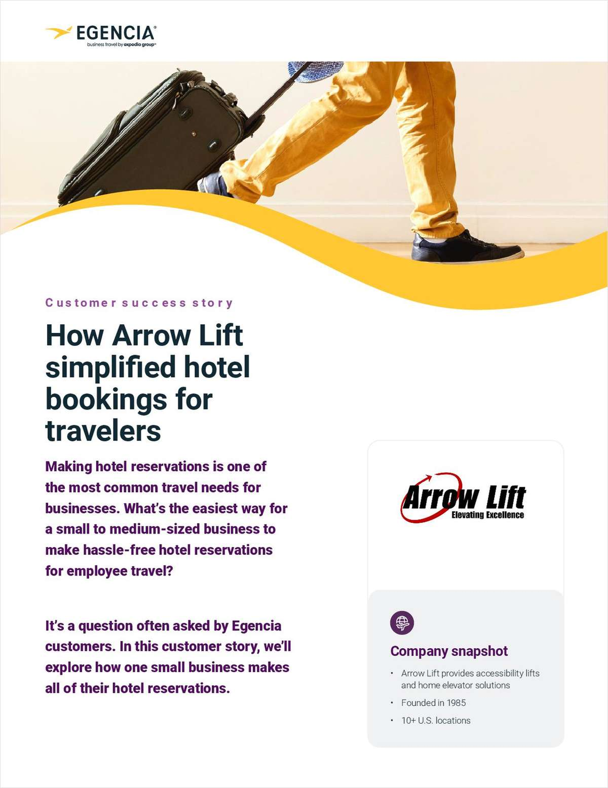 How Arrow Lift Simplified Hotel Bookings for Travelers