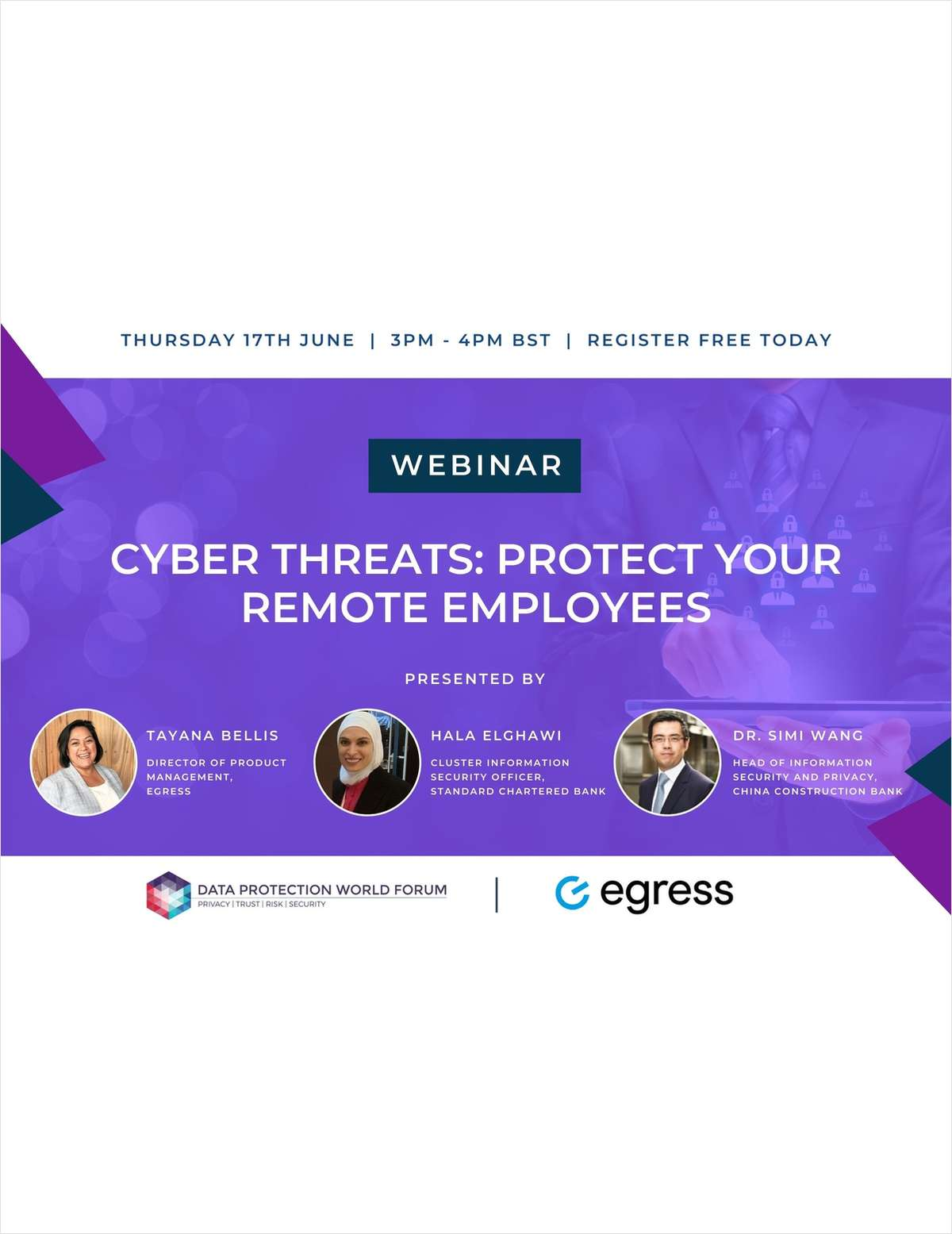 Webinar: Cyber Threats: Protect Your Remote Employees