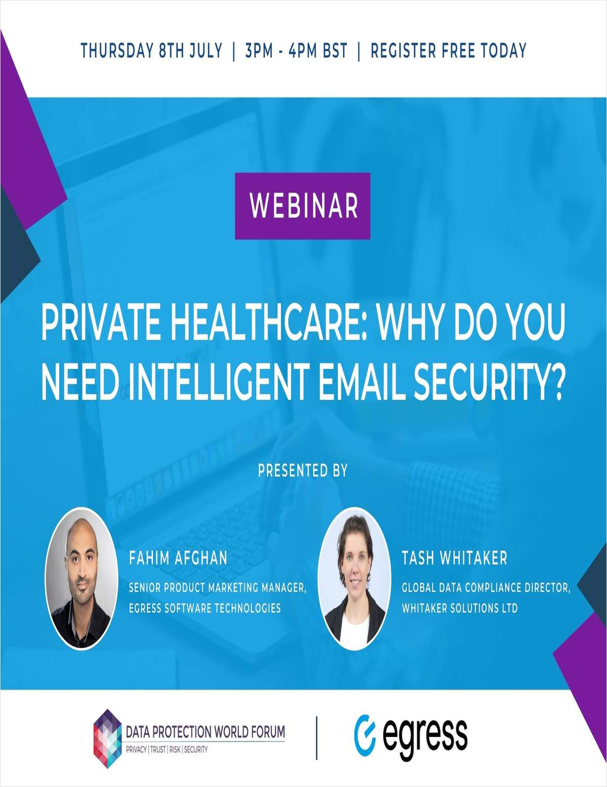Webinar: Private Healthcare: Why Do You Need Intelligent Email Security?