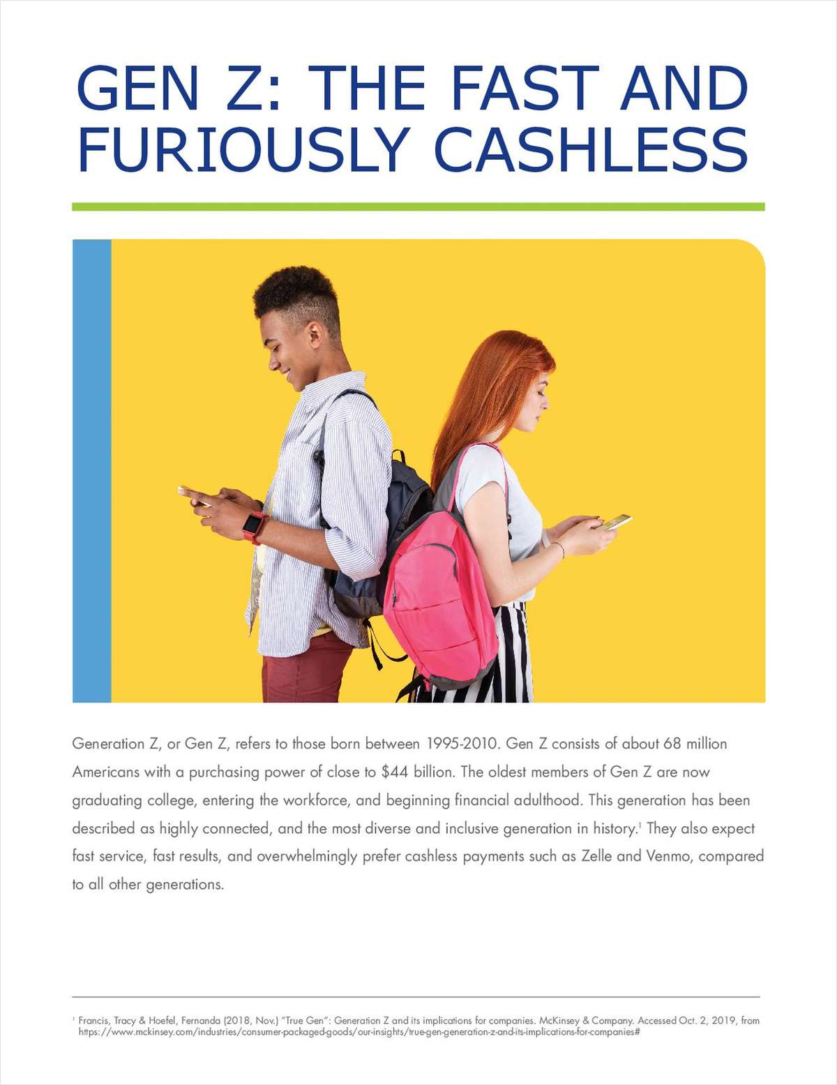 Gen Z: The Fast and Furiously Cashless