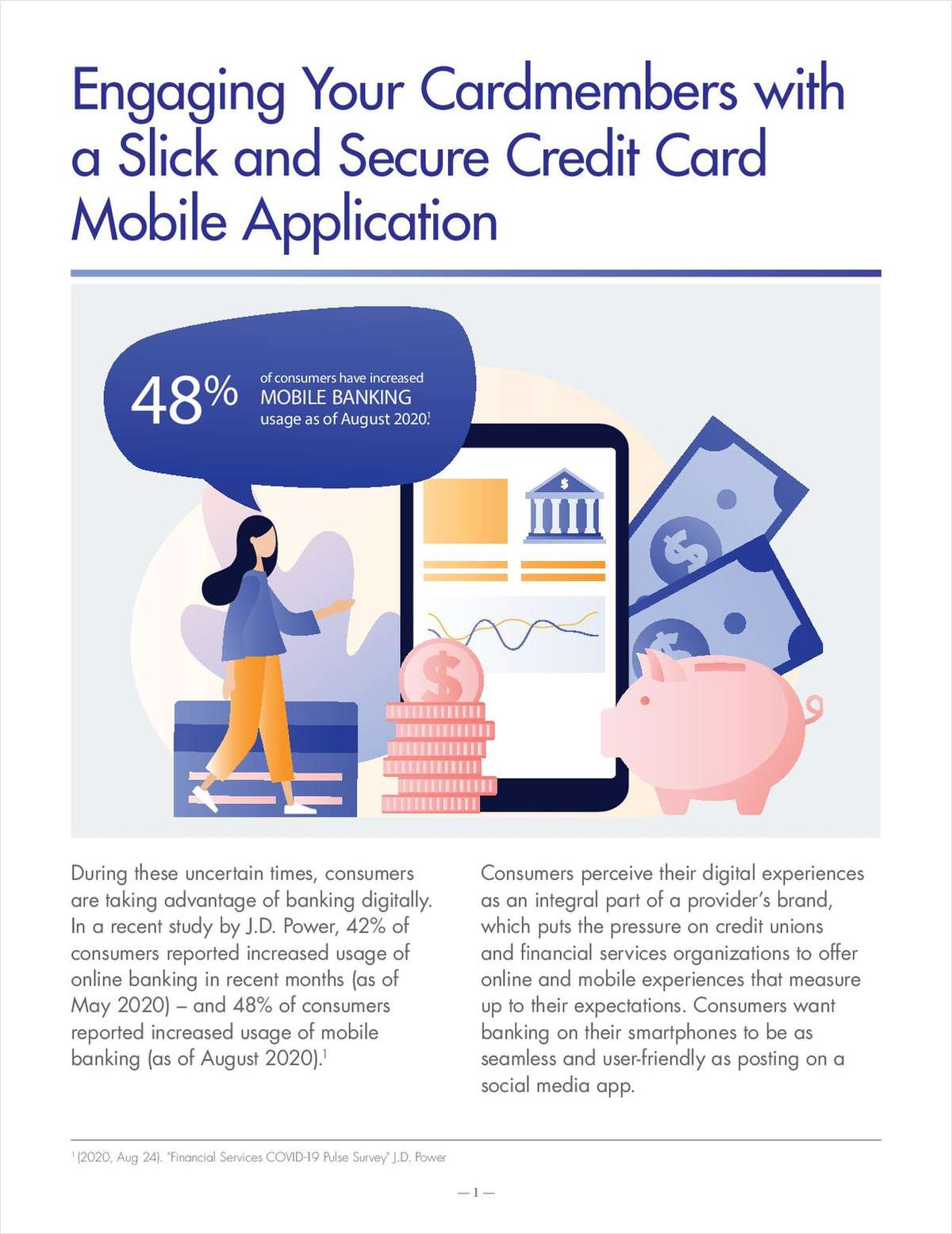 Engaging Your Cardmembers with a Slick and Secure Credit Card Mobile Application