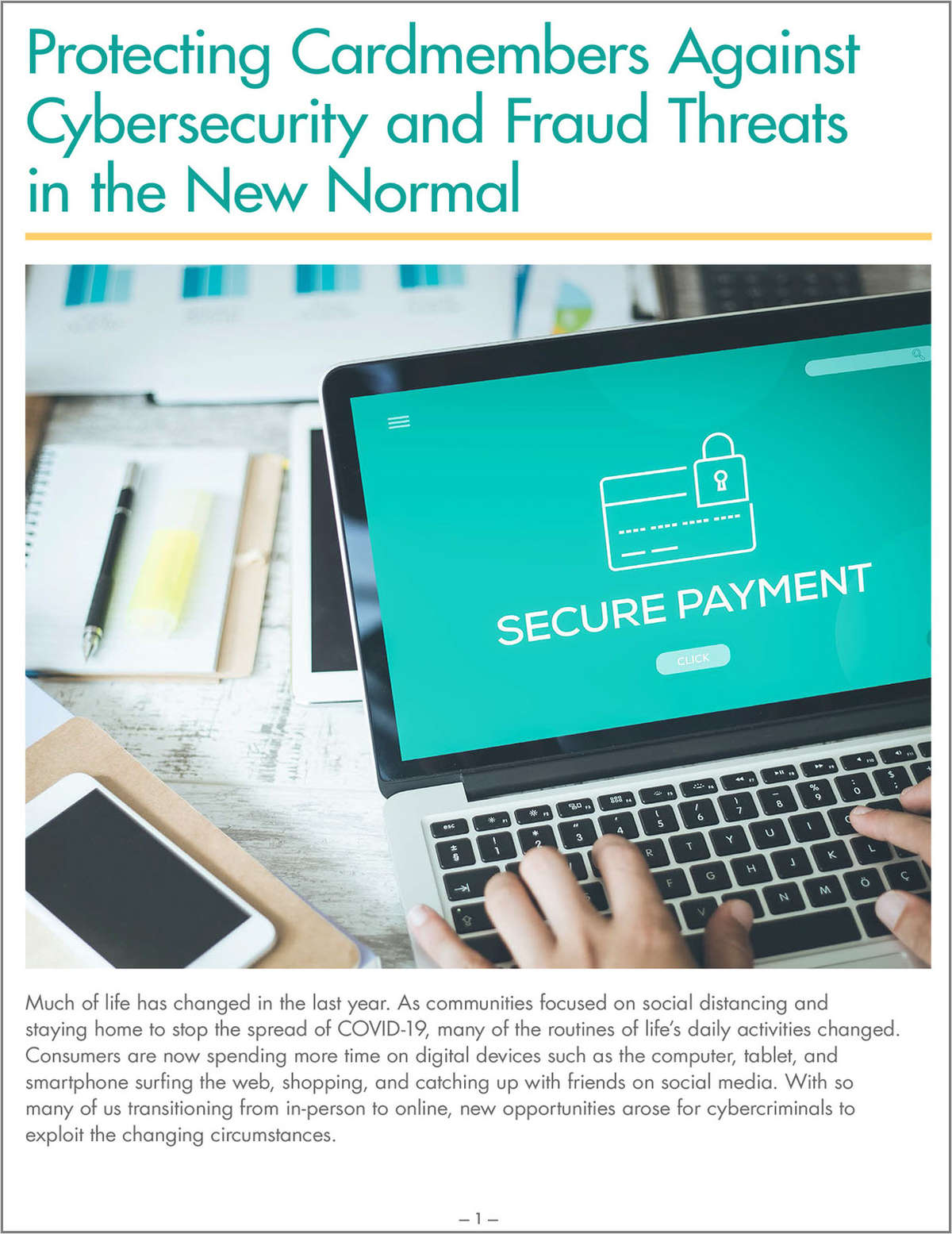 Protect Your Cardmembers Against Cybersecurity and Fraud Threats