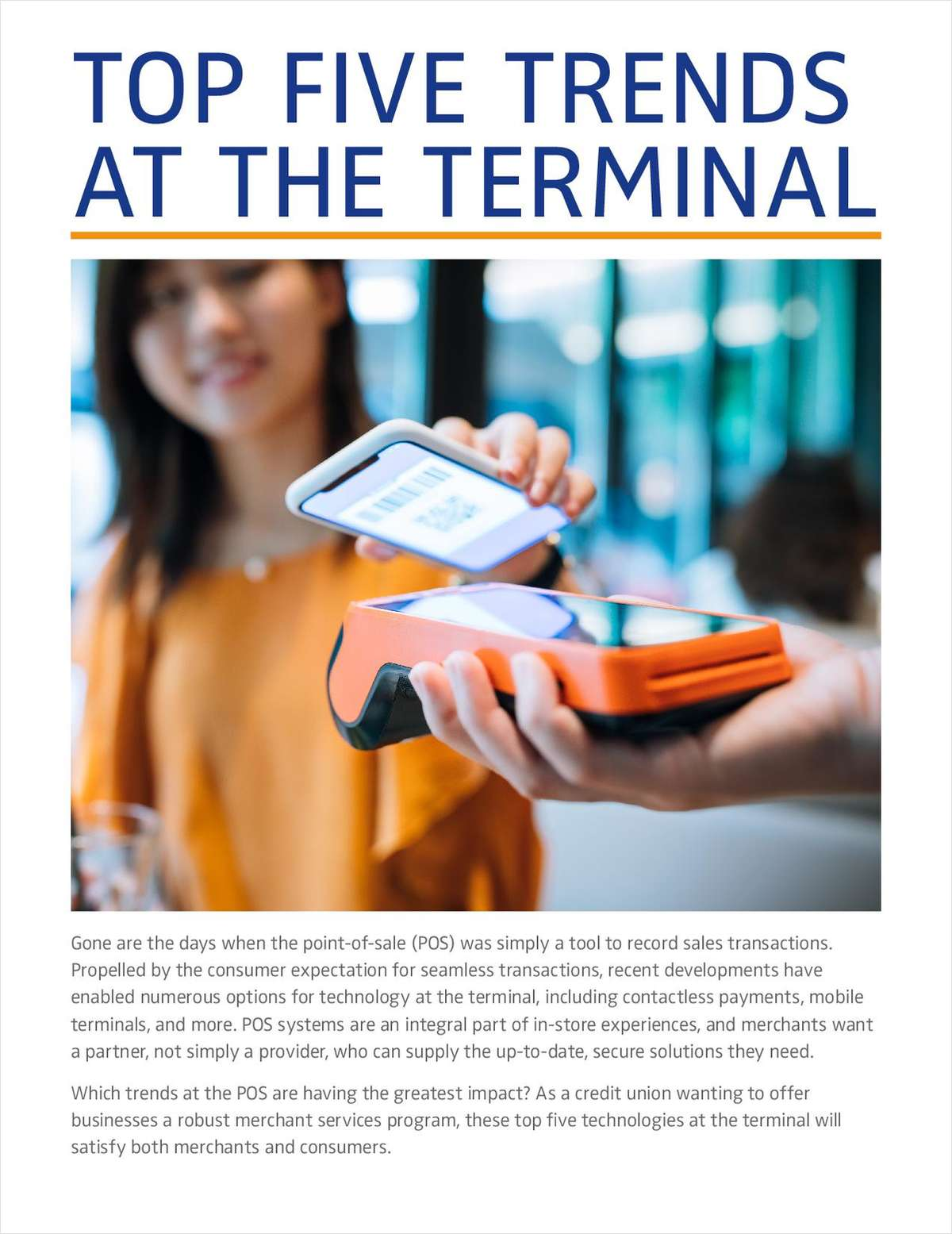 Top Five Trends at the Terminal