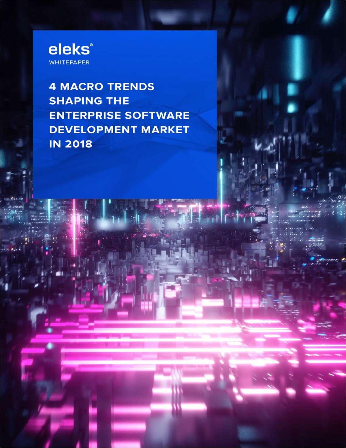 4 Macro Trends Shaping The Enterprise Software Development