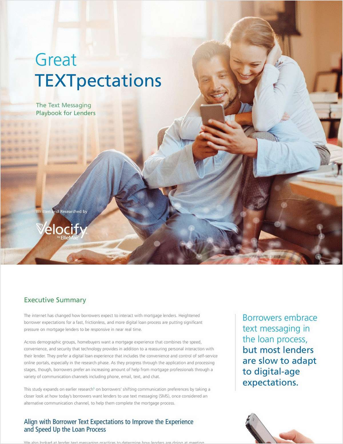 Great TEXTpectations: The Text Messaging Playbook for Lenders