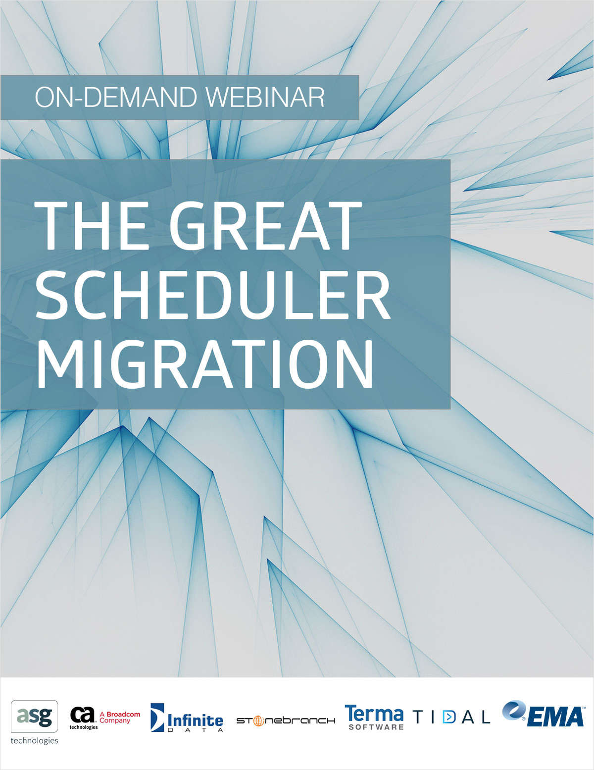 On-Demand Research Webinar: The Great Scheduler Migration